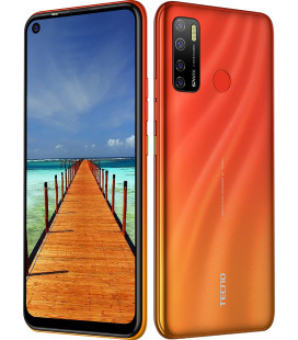 Смартфон Tecno Spark5 Pro (KD7) 4/128Gb DS Spark Orange UA-UCRF Оф. гарантия 12 мес.