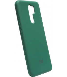 Силикон Xiaomi Redmi 9 dark green Silicone Case
